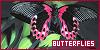 Invertebrates: Butterflies: